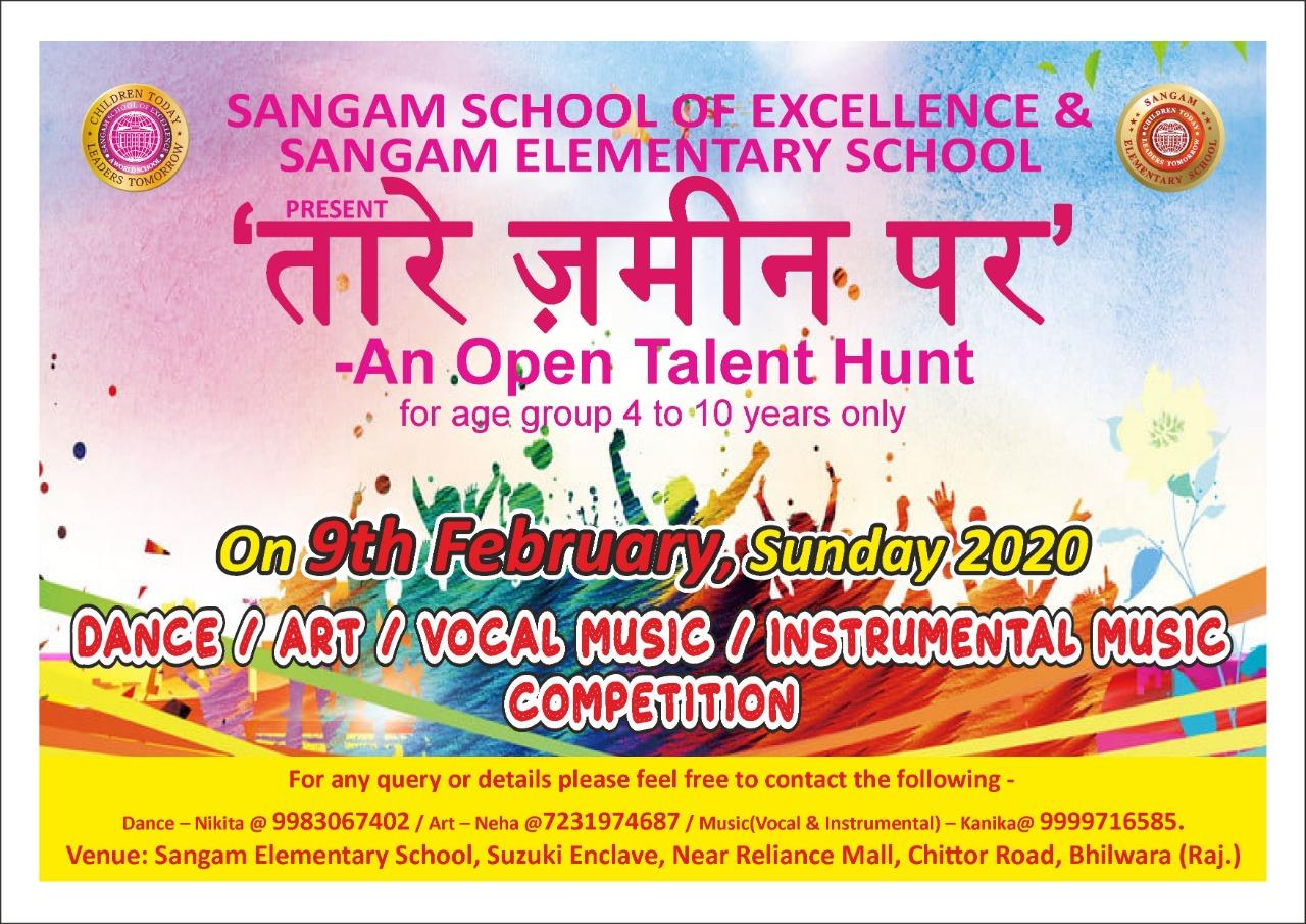 Taarein Zameen Par - An Open Talent Hunt